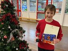 Reuben with certificate